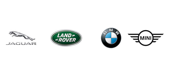 Logo - Jaguar - Land-Rover - BMW - Mini